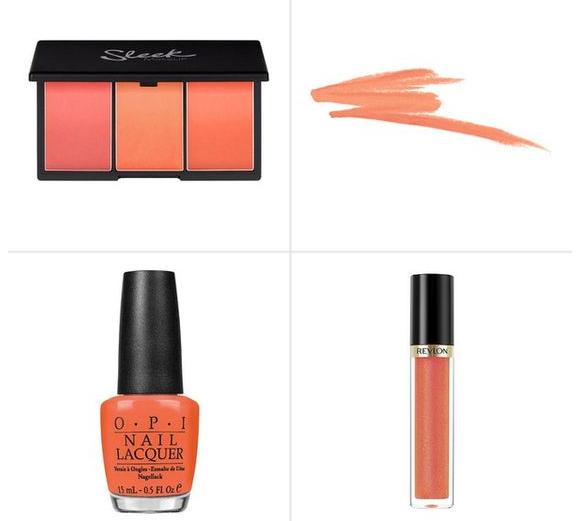 maquillaje peach echo