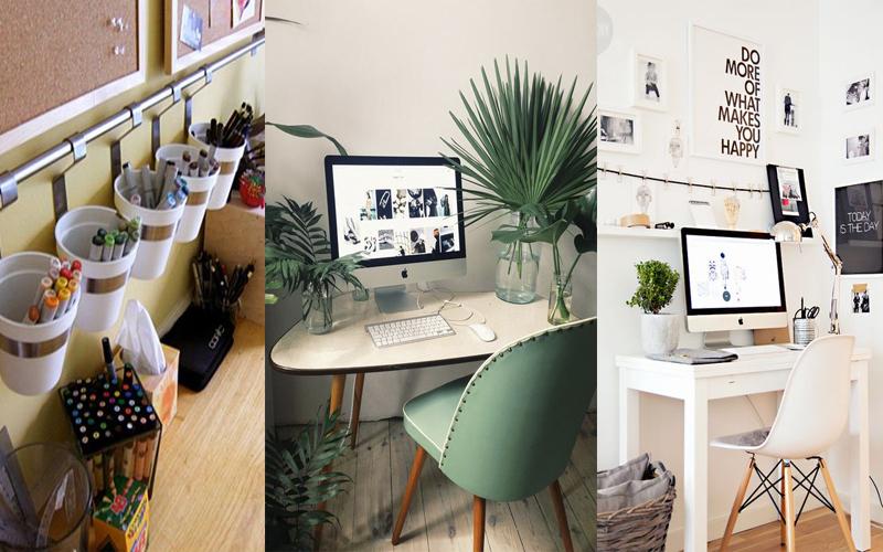 cómo decorar la zona de trabajo