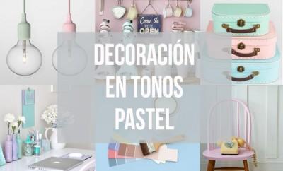 decoración en tonos pastel