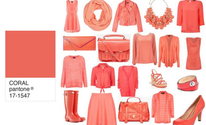 tendencias Color coral