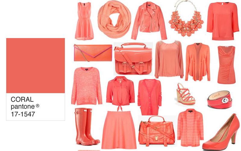 ... Tendencias Color Coral