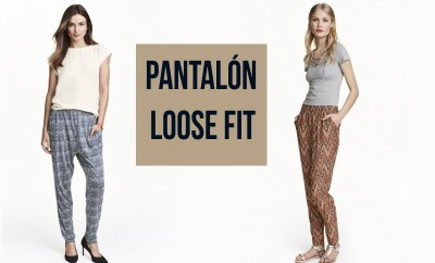 pantalón loose fit