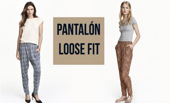 pantalón loose fit