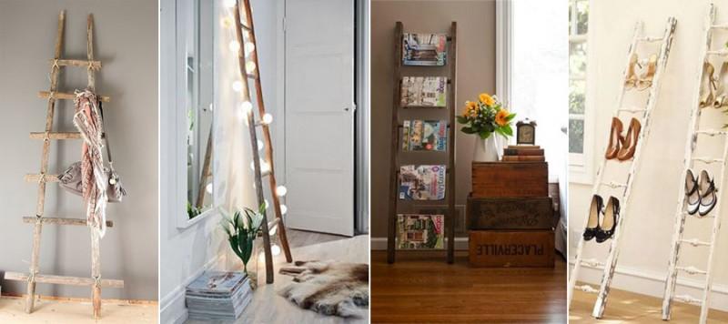 cómo decorar con escaleras