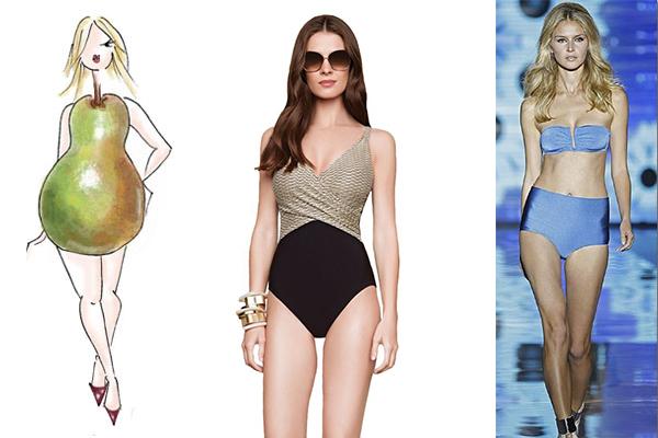 bañadores y bikinis según tu cuerpo
