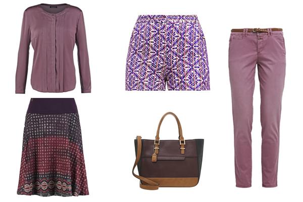 C mo combinar el color violeta en tu ropa - Combinar color lila ...