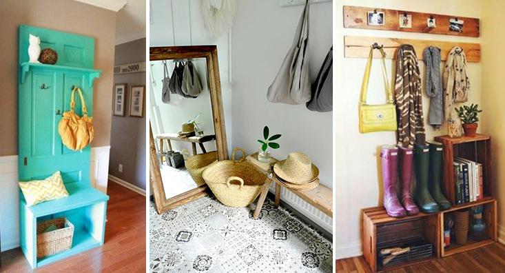 cómo decorar halls y recibidor