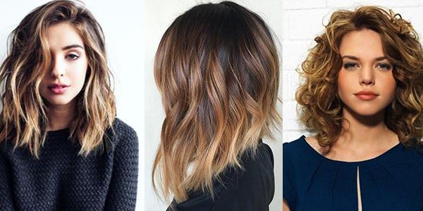 Cortes de cabello con ondas 2017