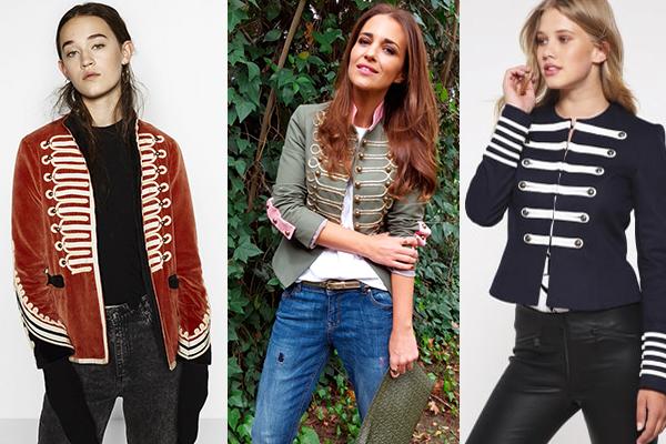 Las celebrities también usan las chaquetas estilo domador
