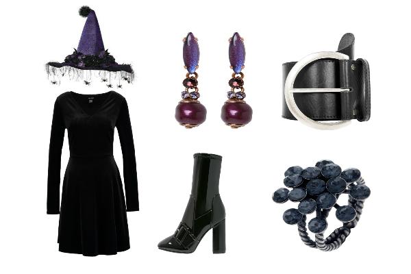 disfraz de halloween con ropa del armario