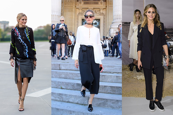 Olivia Palermo look Fashion Week