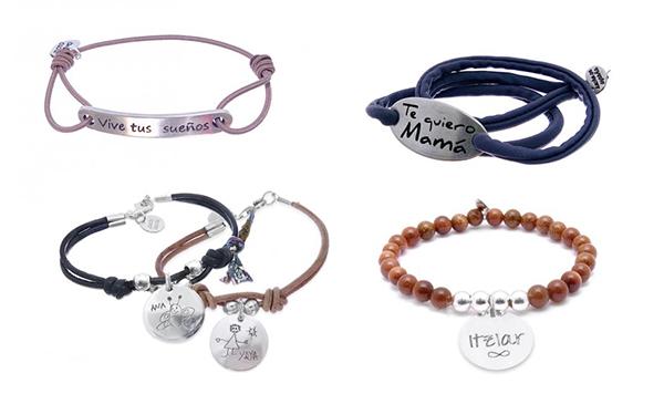 pulseras de plata personalizadas