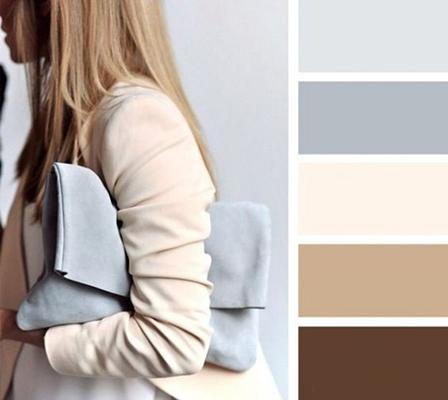 colores para combinar con el color gris