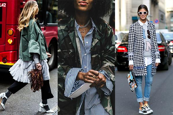 estilo layering con looks extravagantes