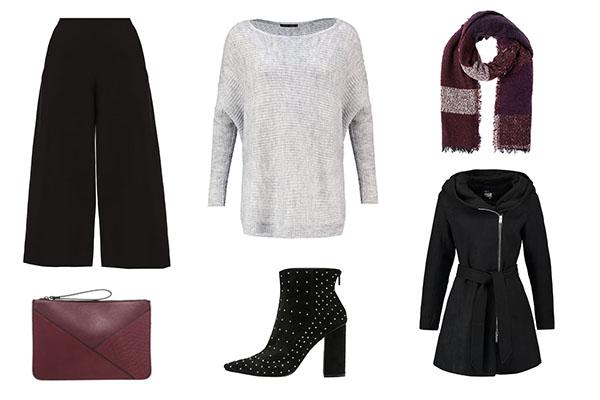 look casual para combinar el culotte en invierno