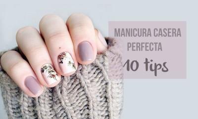 Manicura casera perfecta: 10 tips Portada