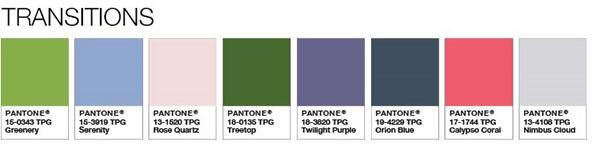 cómo combinar el color de moda 2017