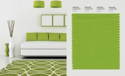 Decora tu hogar con el color greenery