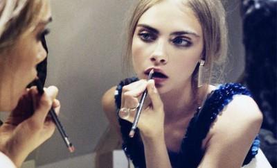Maquillaje y peinados de navidad