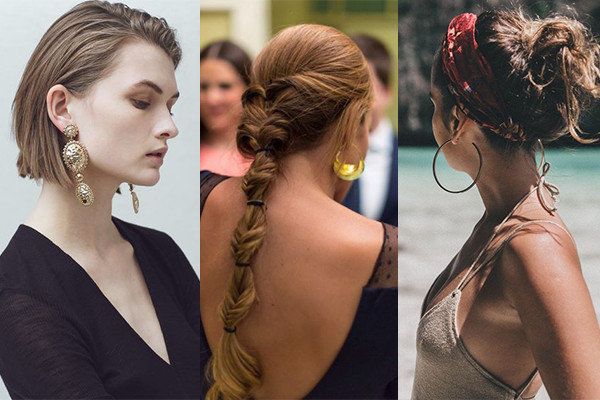peinados para pendientes xxl