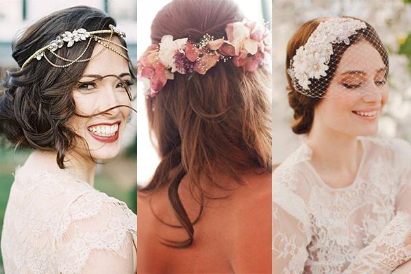 peinados novia 2017 tocados