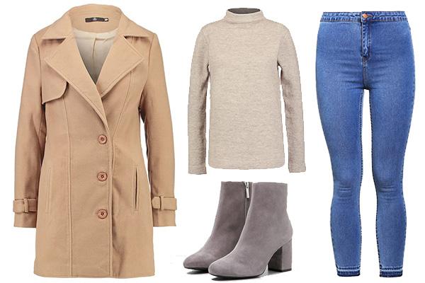 Cómo combinar el color camel: outfit