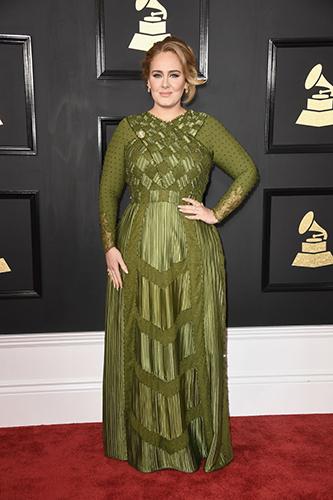 Adele en los premios grammy