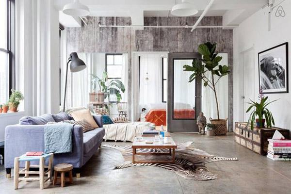 decoración estilo nueva york