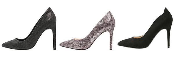 esmoquin de mujer con zapatos de tacón