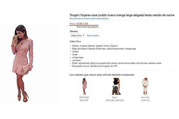 Comprar ropa en Amazon a buen precio
