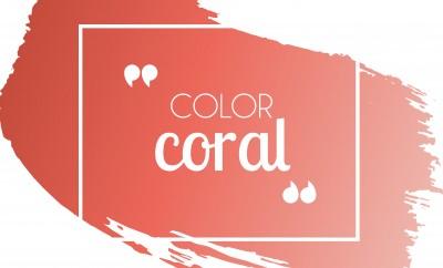 Cómo combinar color coral