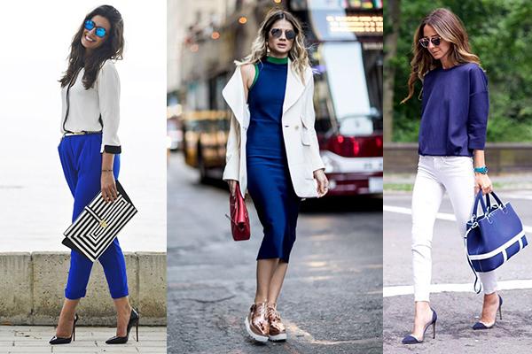 como combinar el azul indigo