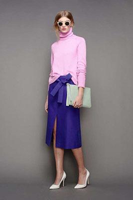 cómo combinar los colores de la temporada rosa y lila