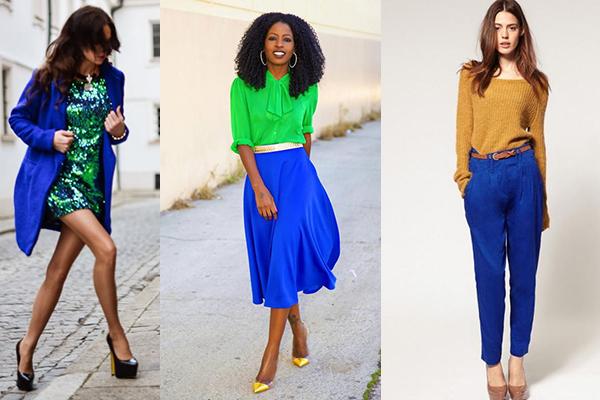 C mo combinar el azul ndigo en tu ropa - Que colores combinan con el lila ...