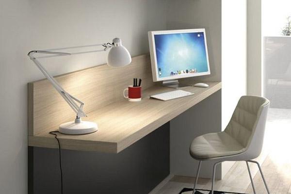 ideas de decoración para habitación de invitados con mesa