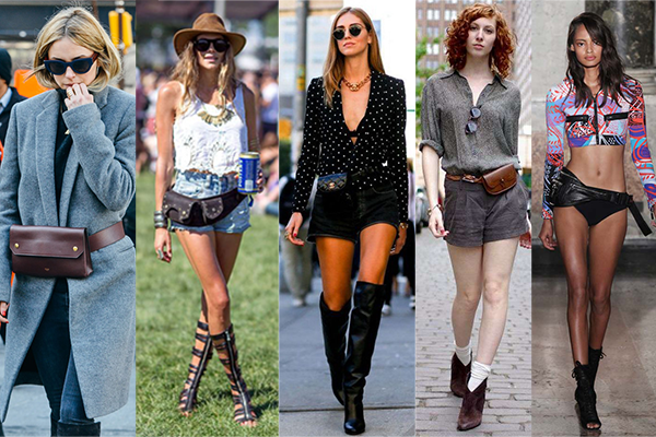 riñoneras de moda