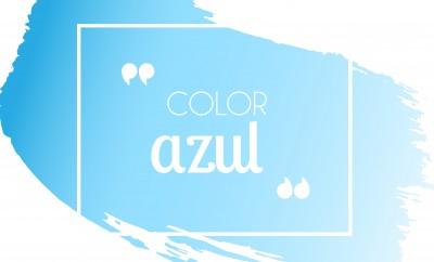 cómo combinar el color azul