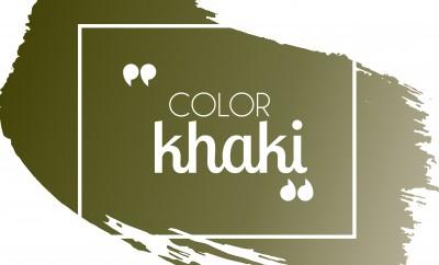 Cómo combinar el color verde khaki en tu ropa