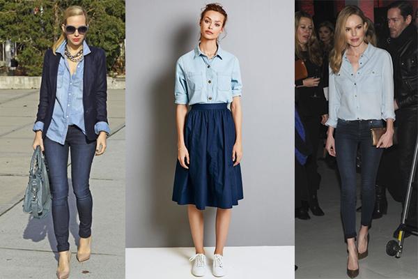 cómo combinar el doble denim en tu ropa