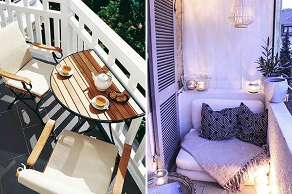 ideas para decorar el balcón pequeño