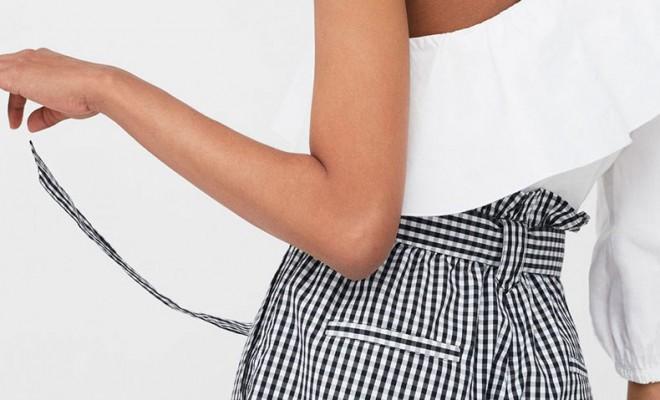 Short cuadro vichy Mujer | Tendencias de moda