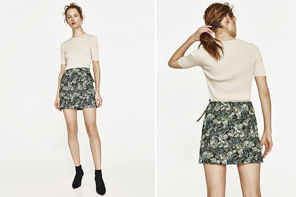 looks de oficina para verano con falda