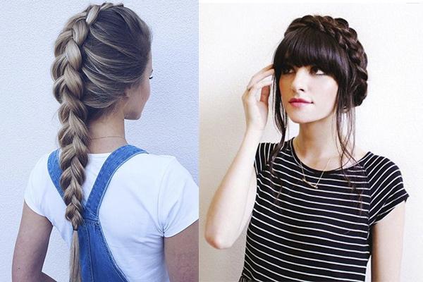 peinados fáciles para verano con trenza