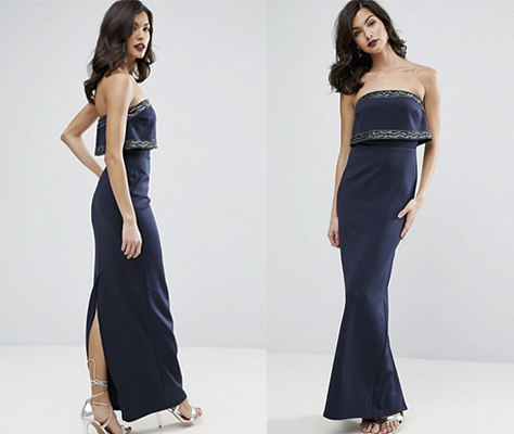 vestidos para invitadas 2017