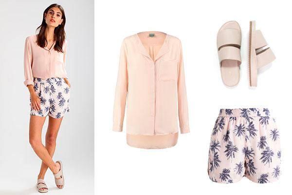 combinar colores pastel en la ropa de verano