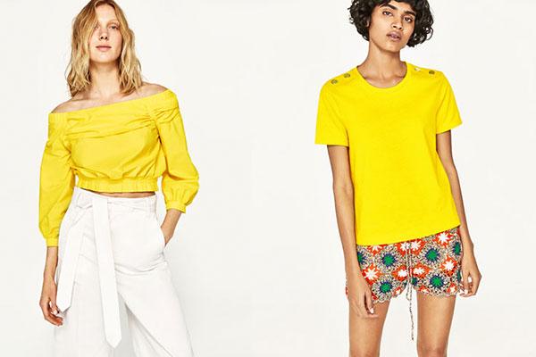 combinar el color amarillo