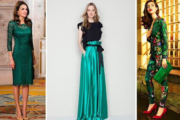 combinar prendas color verde oscuro