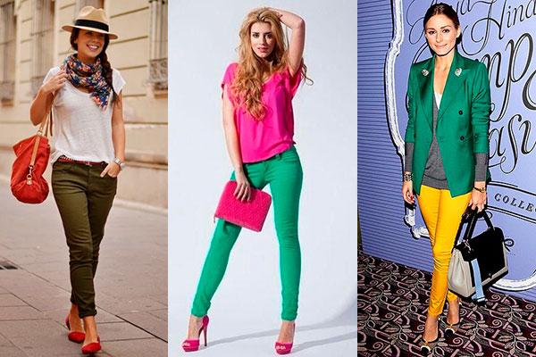 combinar prendas color verde