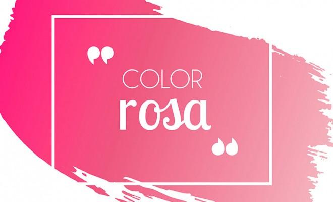 Cómo combinar el color rosa en versión vídeo