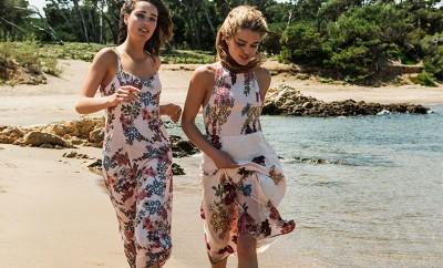 cómo combinar vestidos en verano